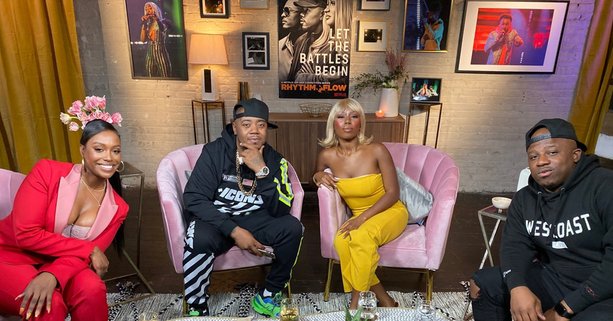 Photo of Scottie Beam Hosts First Episode of 'Rhythm + Flow: The Aftershow'