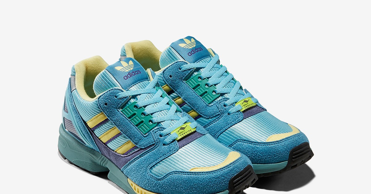 Photo of adidas Consortium Reissues its ZX 8000 in an Iconic OG Colorway