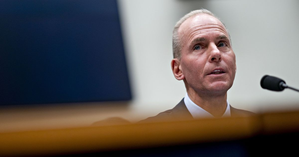 Photo of Boeing CEO Bashed in Congress as Stock Shrugs Off Max Risk