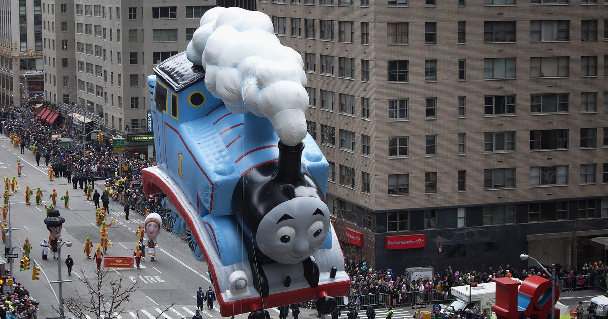 Photo of Thomas the Tank Engine was allegedly the engine for an accounting cover-up