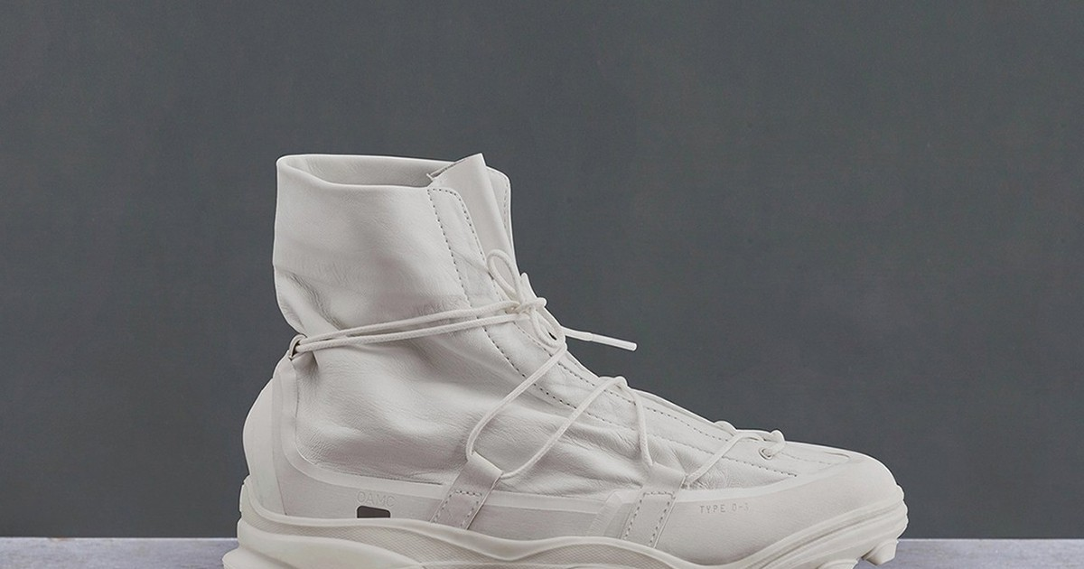 """Photo of OAMC and adidas Originals Release Hybrid """"Type 0-3"""" Sneaker Boots"""