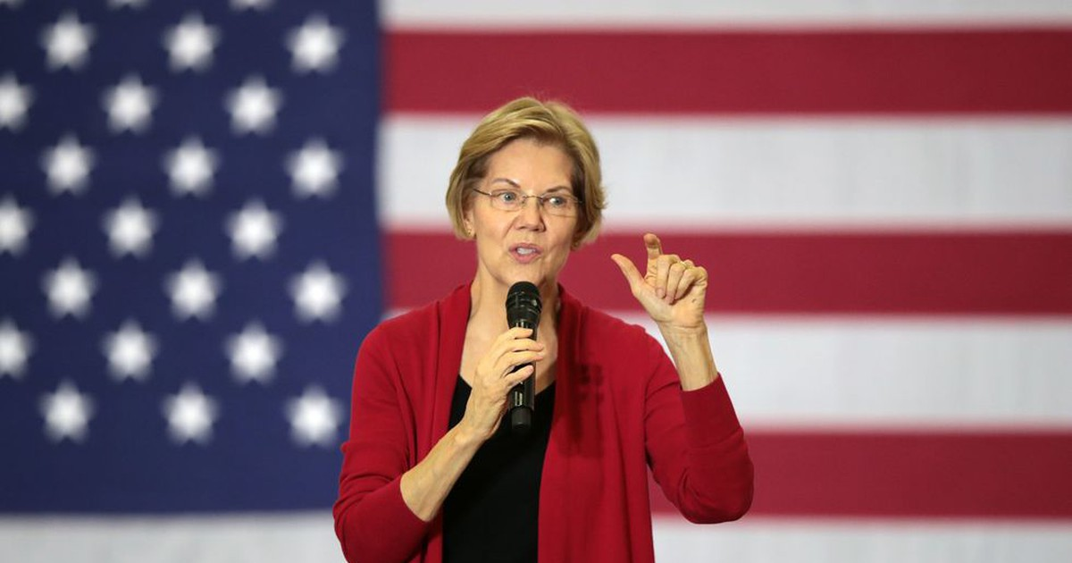 Photo of Elizabeth Warren Was Dismissed as Angry and Antagonistic and a Harvard Elitist All in One Day