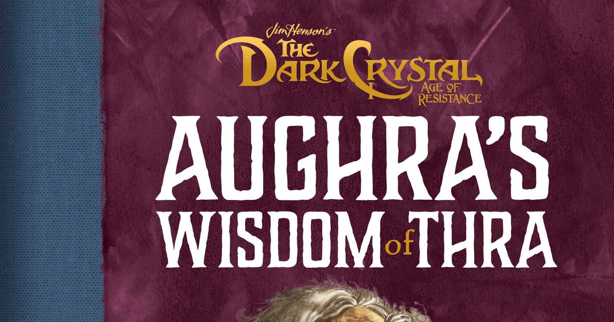 Photo of Aughra dispenses cosmic wisdom in The Dark Crystal: Age of Resistance gift book