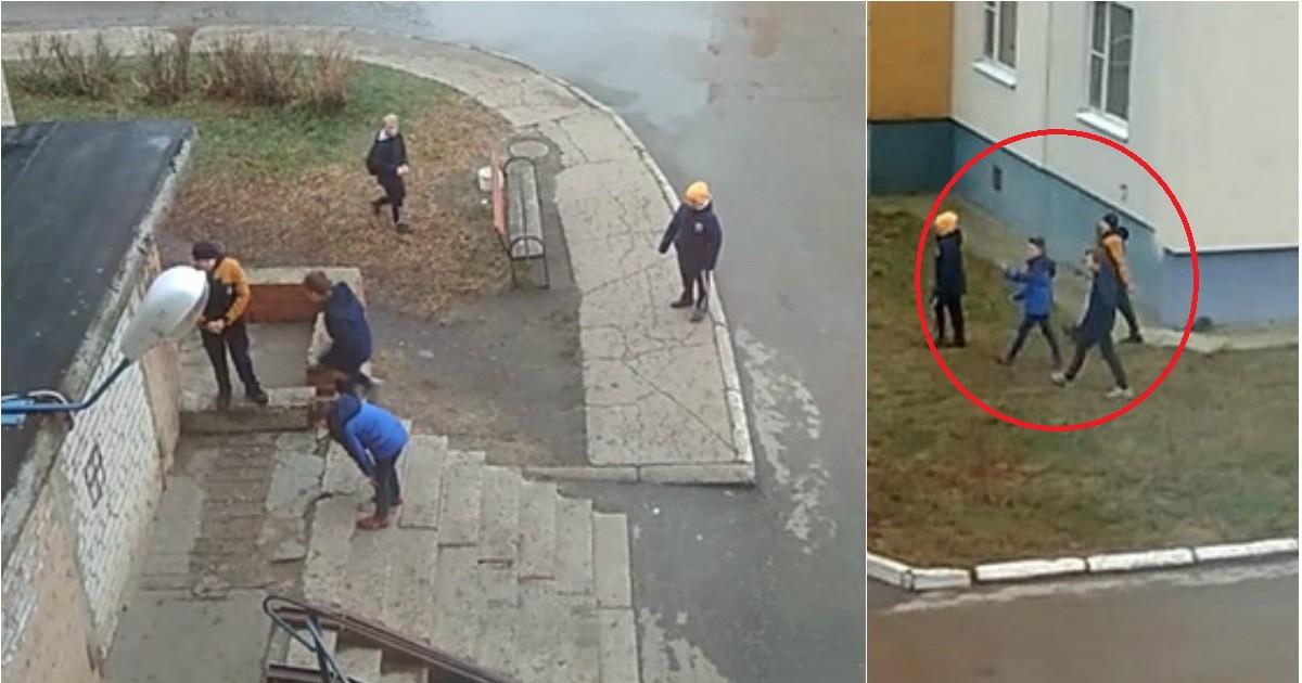 Фото Школьники зaкидали камнями пенсионерку в Новомичуринске
