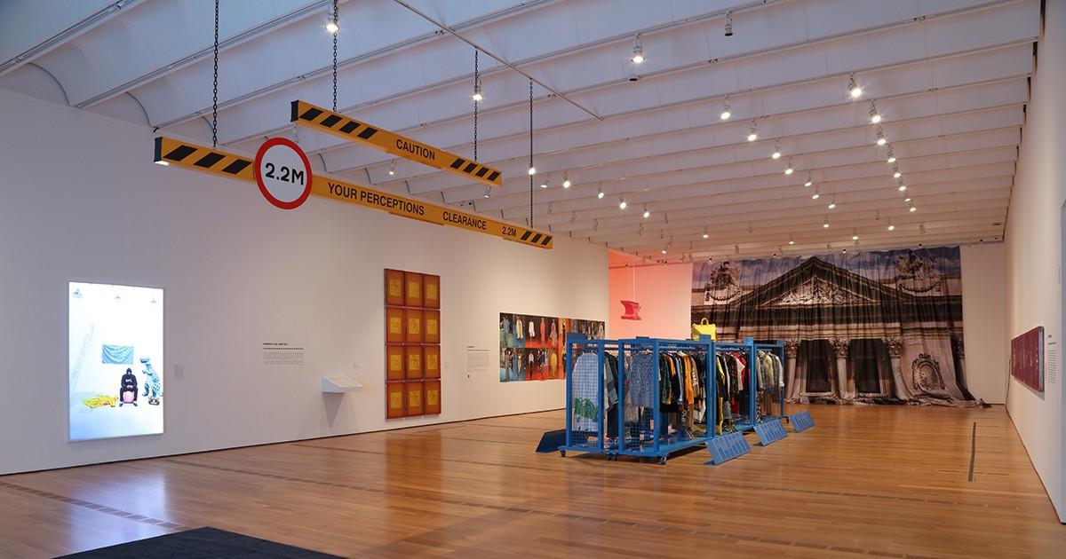 "Photo of See Inside Virgil Abloh's ""Figures of Speech"" Exhibition in Atlanta"