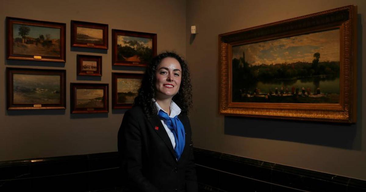 """Photo of """"Hay gente que viene a El Prado y pregunta si las obras son originales"""""""