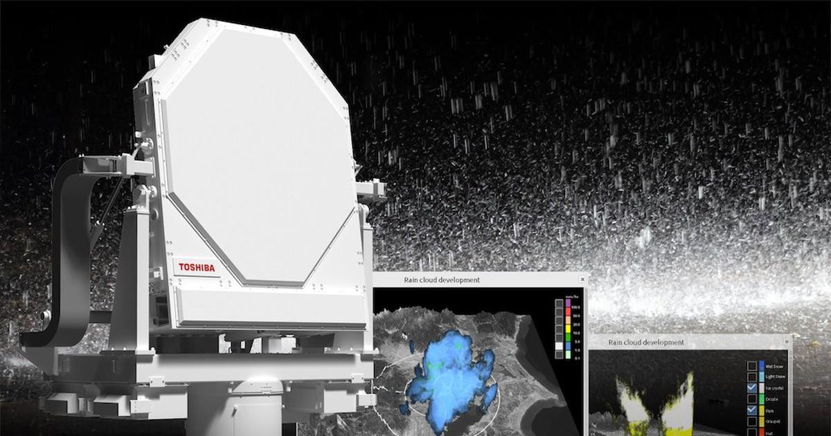 """Фото Погодные радары: как они помогают предсказывать погоду и защитят ли Олимпийские игры 2020 от """"партизанских ливней""""?"""