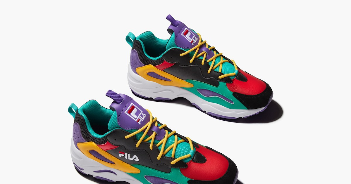Photo of FILA Celebrates EbLens' 70th Anniversary With Bold Ray Tracers