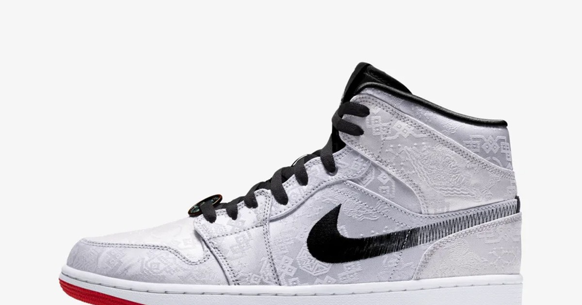 Photo of Edison Chen's Tearaway Air Jordan 1 Mid Drops This Week