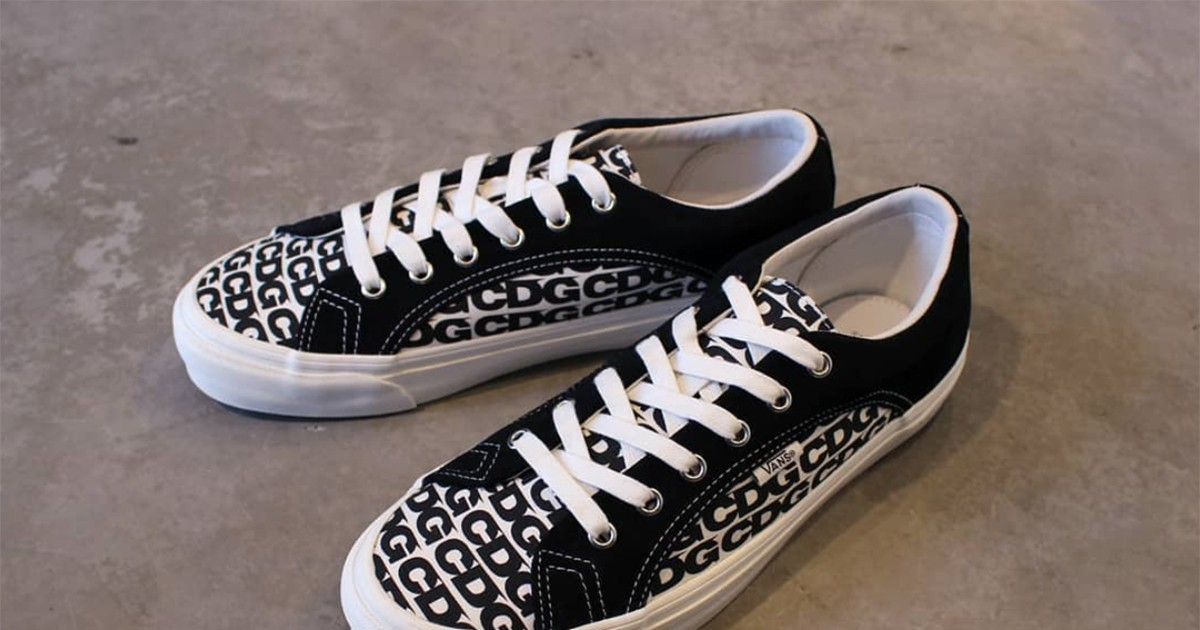 Photo of COMME des GARÇONS Teams Up With Vans for New All-Over Print Collab