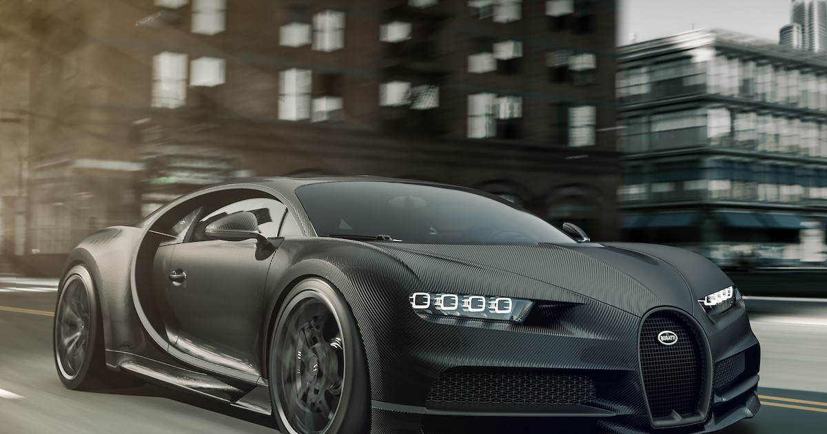 Photo of Bugatti Unveils Two New $3.3 Million+ Murdered-Out Chiron Special Editions