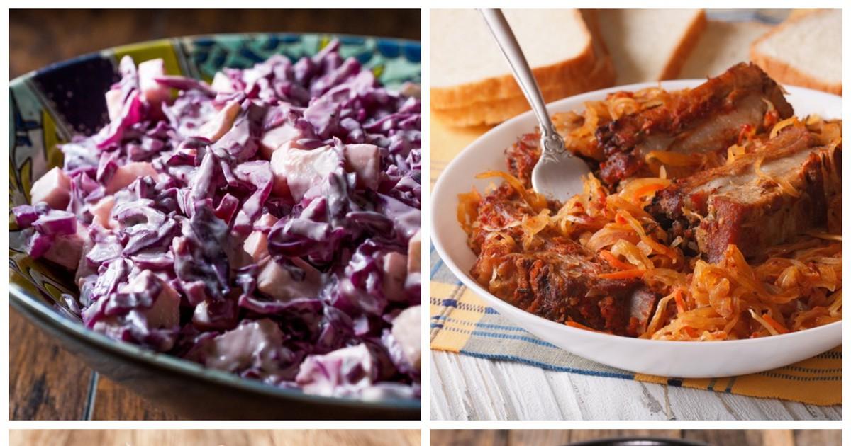 Фото Топ 7 вкусных блюд из капусты на каждый день