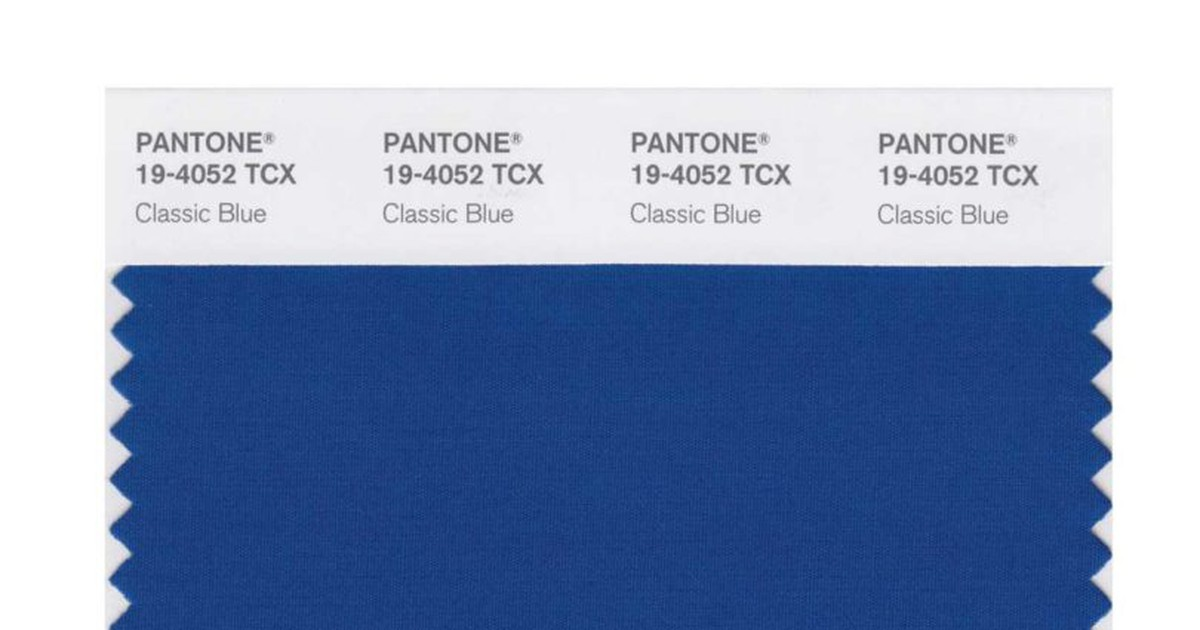 Photo of PANTONE Color of the Year 2020: Classic Blue