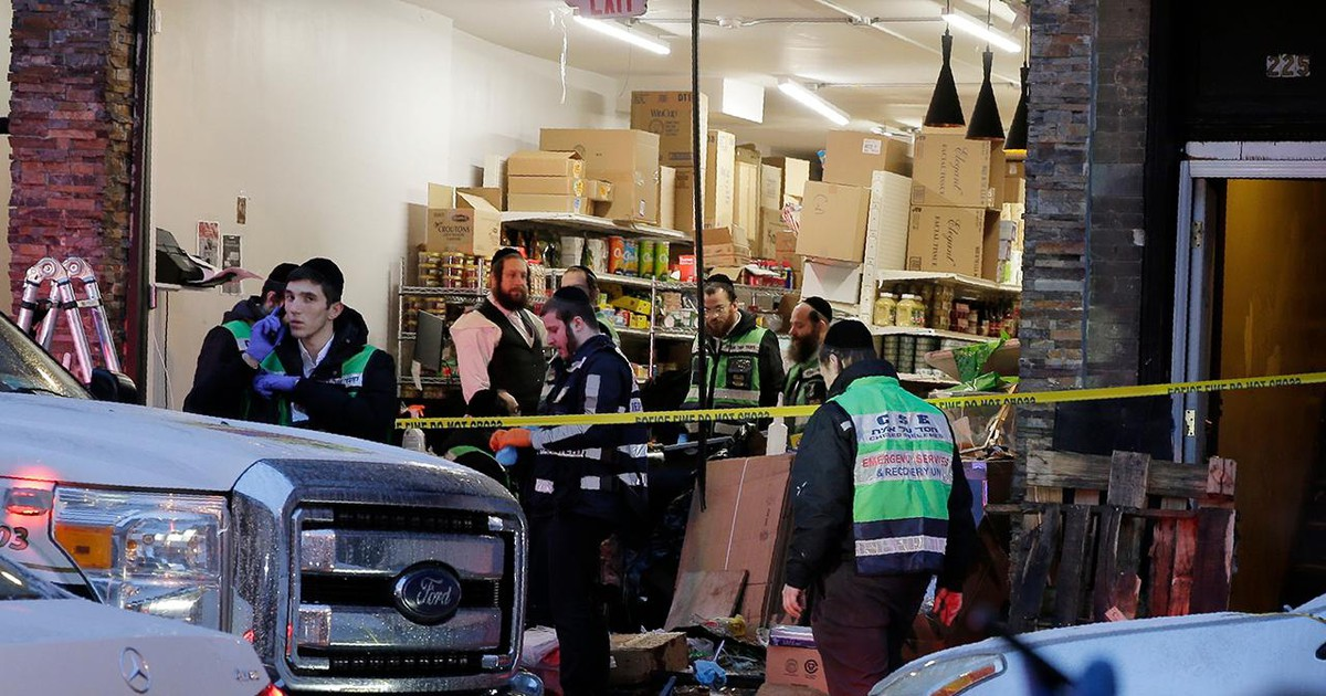 Photo of Jersey City shooting suspect published anti-Semitic posts online, report claims; officials say kosher market 'targeted'