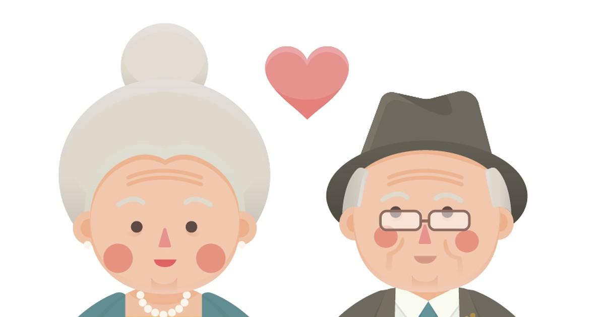 Фото Анекдот про пожилых супругов иностальгию