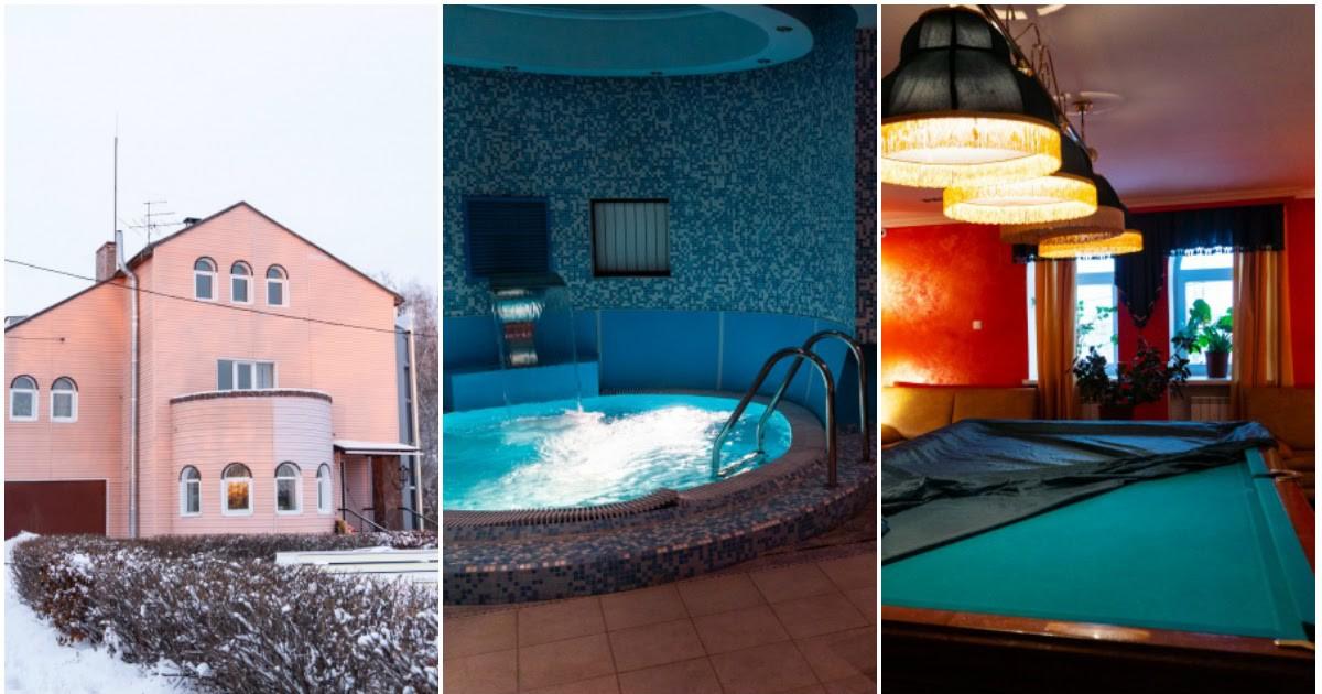 Фото Омский бизнесмен подарил детскому хоспису коттедж с бассейном и бильярдом