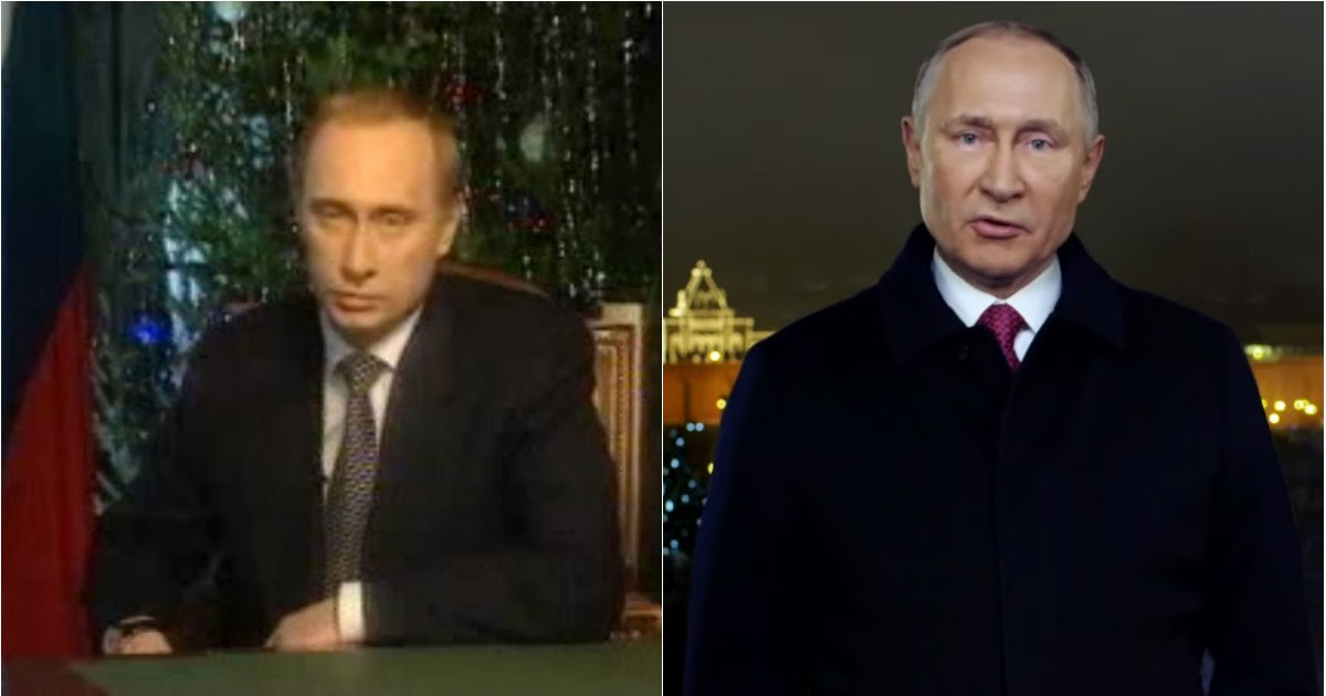 Фото Уже не тот? Как изменился Путин за 20 лет: хроника новогодних обращений