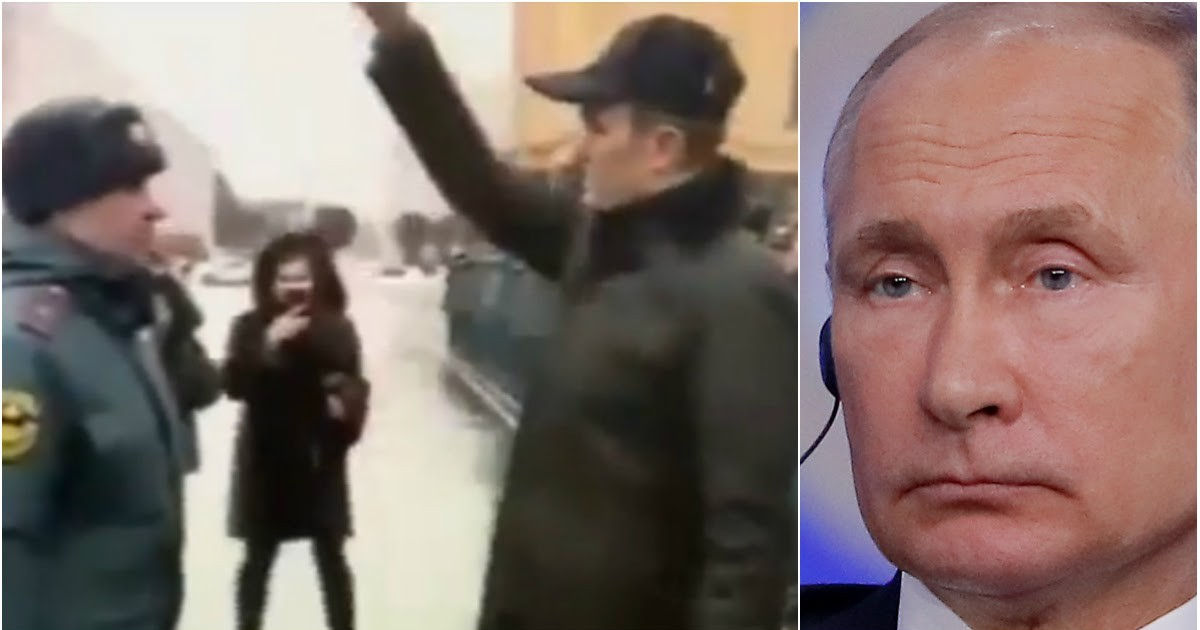 """Фото Путин отправил в отставку главу Чувашии после """"собачьего фокуса"""" с пожарным"""