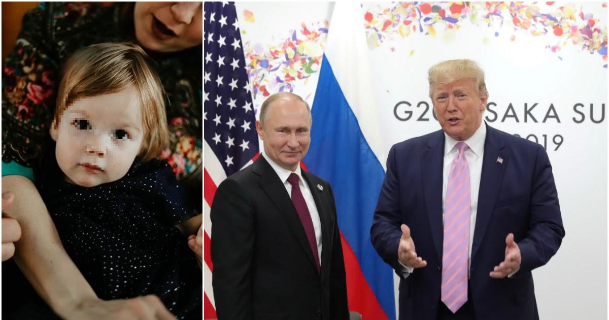 Фото Семья с Урала написала письмо Трампу с просьбой спасти их годовалую дочь