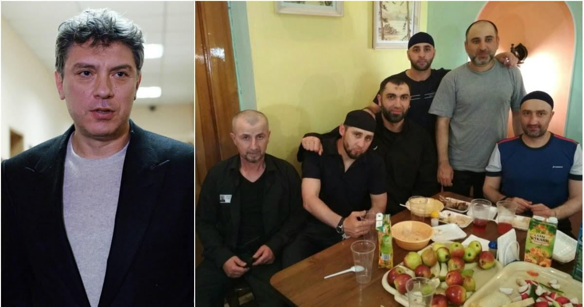 Фото Друзья Дадаева похвастались его застольем в тюрьме