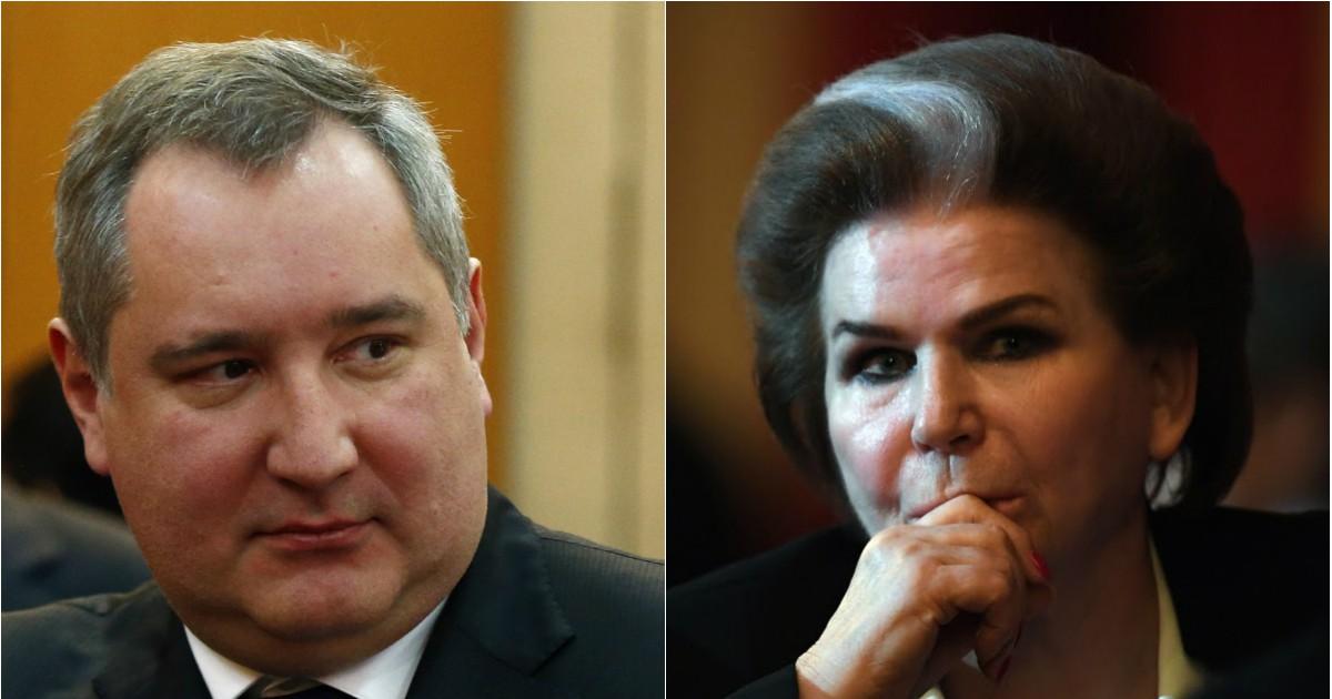 """Фото Глава """"Роскосмоса"""" Рогозин резко ответил критикам Терешковой и обнуления"""