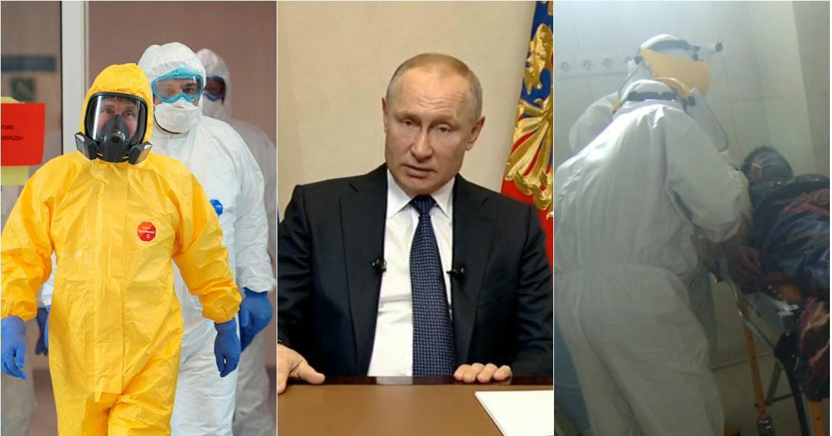 Фото Беспрецедентные меры: что рассказал Путин во время обращения к нации