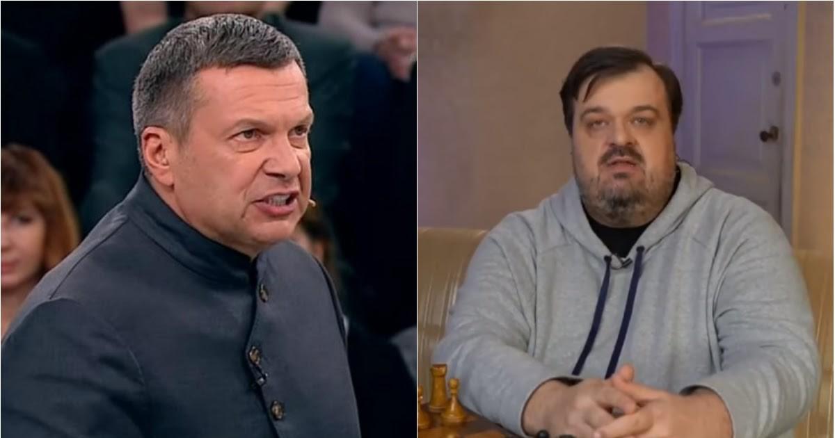 Фото Соловьев назвал психически больным Уткина за критику государства
