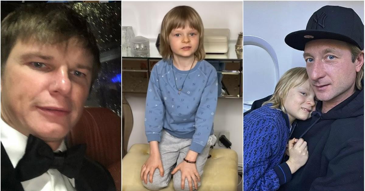"""Фото """"Я вам дурачок?"""": 7-летний сын Плющенко ответил на критику Аршавину"""