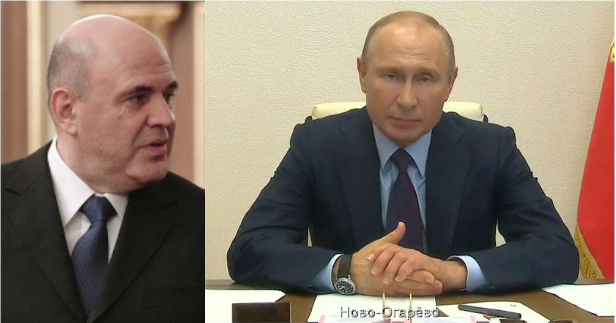 Фото Обращение Путина к народу: президент рассказал о больном Мишустине