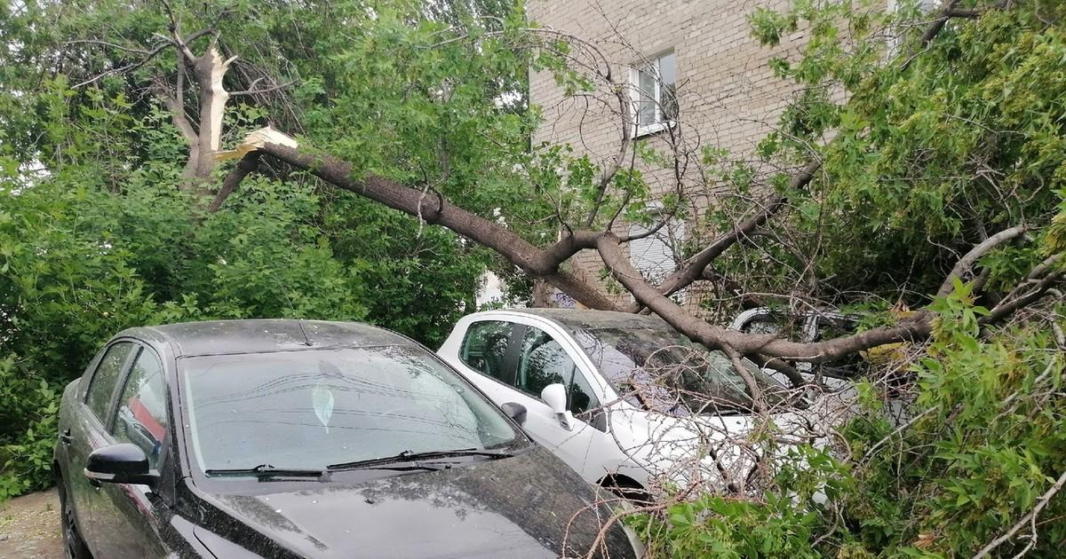 Фото Один человек пострадал из-за урагана в Екатеринбурге