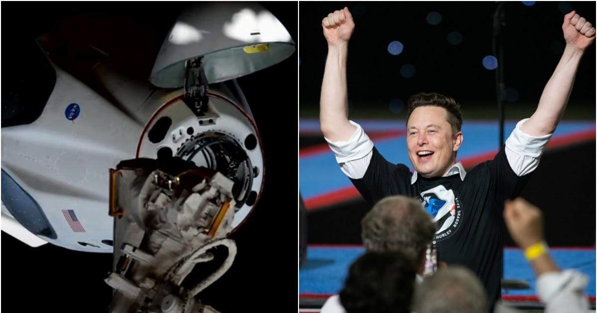Фото Корабль Илона Маска пристыковался к МКС
