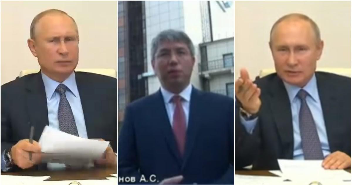 """Фото """"Где 400 миллионов?!"""": Путина крайне возмутил """"потерявший"""" деньги Цыденов"""