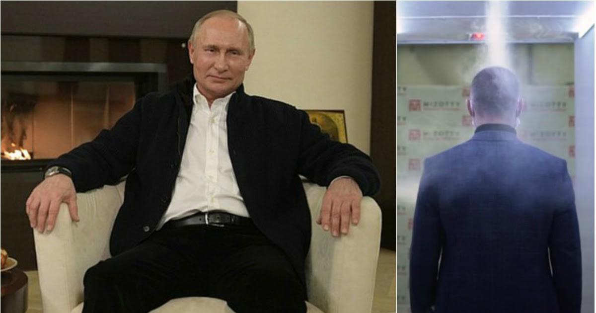 Фото Спецтуннель: СМИ узнали о новом устройстве в резиденции Путина