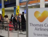 Thomas Cook travel chaos: firm's collapse leaves 150,000 stranded abroad – live updates