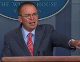 Mulvaney faced a threat of being ousted before the impeachment crisis