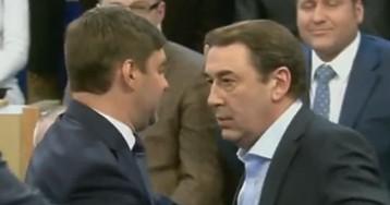 """Экс-министр экономики Нечаев — о драке с Железняком: """"Если он продолжит, буду поступать так же"""""""