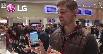 MWC 2015 — видеознакомство со смартфонами LG Magna и LG Spirit