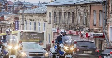 На дорогах Кирова несут службу мотоэкипажи ДПС