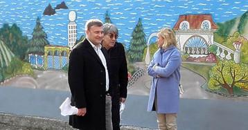 В Москве снимают фильм о прокуроре Крыма (фото)