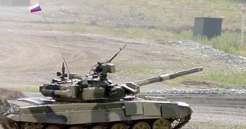 Танк Т-90 выдержал прямое попадание американской ракеты
