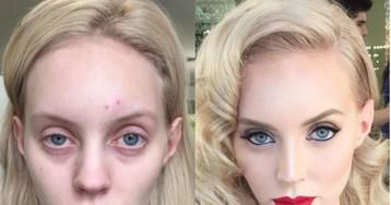 Чудеса макияжа: нет ничего, с чем бы не справился визажист-самоучка