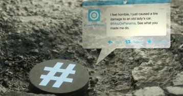 Ямы на дорогах сами твитят обслуживающей организации
