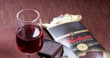 Ученые выяснили, что шоколад икрасное вино помогают худеть!