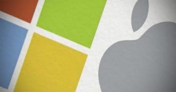 Microsoft Lumia против Apple iPhone