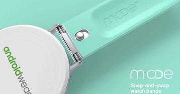 MODE — яркие ремешки для гаджетов на Android Wear