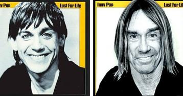 Тогда и сейчас: как выглядели бы всемирно известные музыканты на обложках старых альбомов