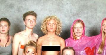 Шведская школьница снялась топлес, потому что она феминистка