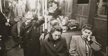 Фотографии нью-йоркского метро 1940-х, сделанные молодым Стэнли Кубриком