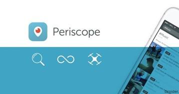 Periscope научится транслировать с дронов и навсегда сохранять видео