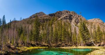 Загадочное гейзерное озеро Алтая